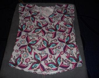 Butterflies Shirt, Smaller Version
