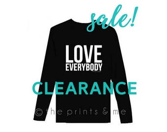 Love Everybody   HARRY STYLES   One Direction  Harry Styles Shirt   One Direction Shirt