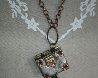 small soldered jewel book