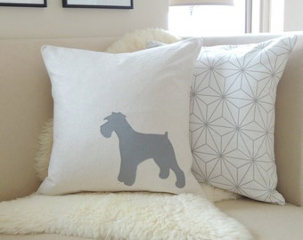 Miniature Schnauzer Pillow Cover