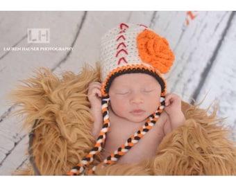 Newborn Baseball Hat, Baby Baseball Hat, Baby Orioles Hat, Newborn Orioles Hat, Crochet Baseball Hat, Baseball Hat, Newborn Photo Prop, Hat