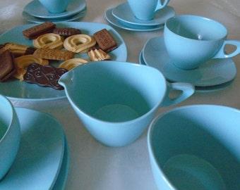 melamine midwinter modern break resistant tea set