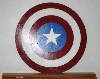 Superhero Shield Wall Hanging