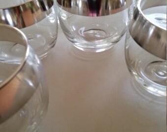 Set of Eight Dorothy Thorpe Style Glassware