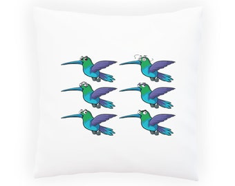 Hummingbirds Different Pillow Cushion Cover p573p