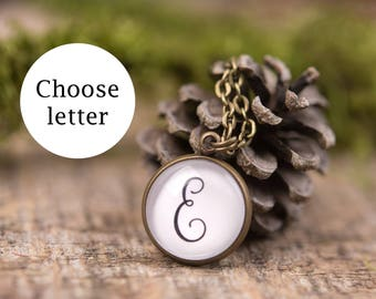Personalized gift, initial necklace, custom name, letter necklace, gift for women, bridesmaid gift, gift for her, personalized jewelry
