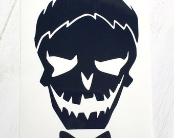 DIY Boy Skull cut from Vinyl