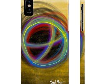 Glow Circle Slim Phone Cases By Case Mate