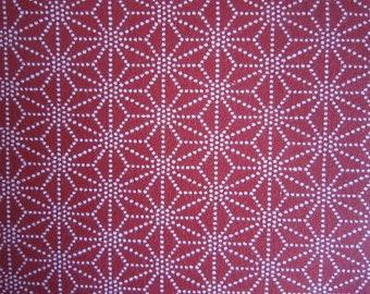 New!! cotton hard sheeting 108cm x2m made in Japan kawaii Japanese asanoha