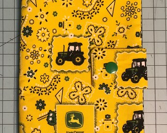 Play Pack Activity Case / Travel Activity Pouch / Marker Pencil Pouch / Crayon Case / Pencil Pouch - John Deere