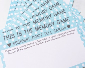Hen Party Memory Game, Hen Kit, Hen Party Games, Bride to be L Plates, Hen Party Itinerary, Bride to be Bunting, Hen L Plates, Hen Do