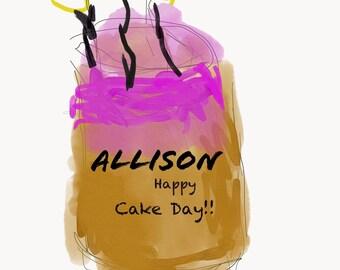 Ali Turner's birthday!!!