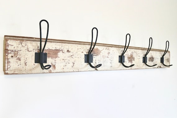 Wooden Trim Coat Rack