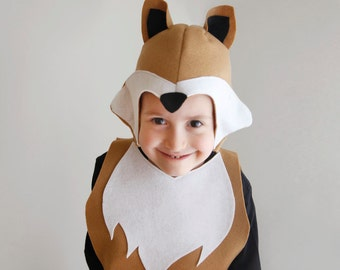 Reindeer pattern diy costume mask sewing tutorial creative fox pattern diy costume mask sewing for boy instant download woodland animals ideas for kids baby solutioingenieria Choice Image