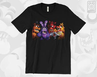 FNAF T-SHIRT Welcome to Freddy's // FNAF Five Night's at Freddy's // Horror Games // Gamer Gifts