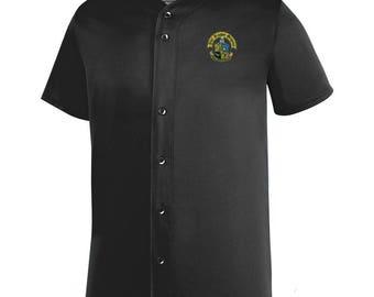 Phi Kappa Sigma Fraternity Crest Sultan Baseball Jersey