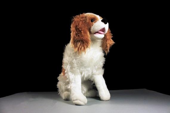 Cavalier King Charles Spaniel, Life-Like Dog, Life-Size Dog, Melissa and Doug, Plush Dog, Stuffed Animal