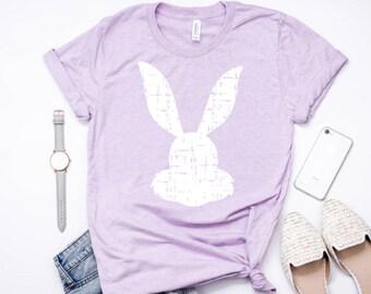 Womens Easter shirt, Easter Bunny Shirt, Glitter Shirt, Christian Shirt, Spring Shirt, Easter Shirt, Inspirational Shirt, Church Shirt