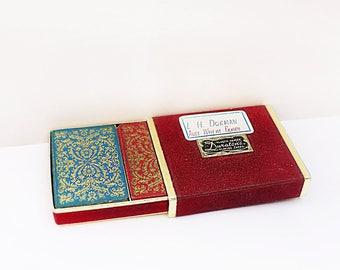 Vintage Double Deck de cartes à jouer
