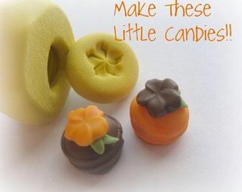 Make Clay Candy Miniature Mold Doll House Fake Sweets Kawaii Charms DIY