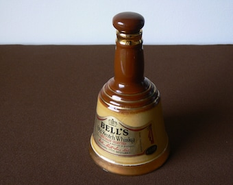 Small Bell's Whisky Decanter with Stopper.