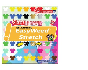 """Siser Easyweed Stretch  20"""" (19.66"""" ACTUAL SIZE)"""