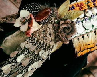 Endless Headdress - Art Deco/Nouveau ATS Tribal Fusion or Ritual