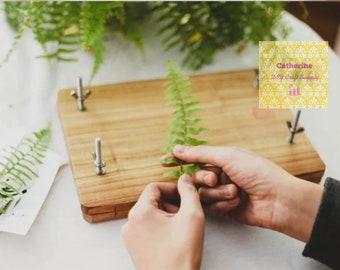 DIY flower press kit, dried plants tools, dried flower tools, making dried flower