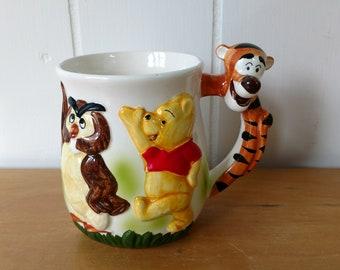vintage Walt Disney Winnie the Pooh Tigger mug