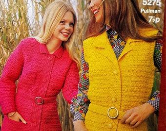 SIRDAR 5275 Ladies Vintage Knitting Pattern