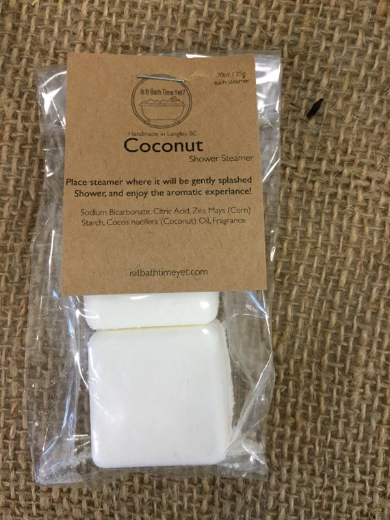 Coconut Shower Steamers