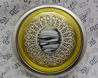 Kompakte Spiegel Make-up Spiegel Pocket Mirror Brautjungfer Brautjungfer Geschenk Bridal Shower Favors kommt mit schützenden Beutel Ziggity Zaggity