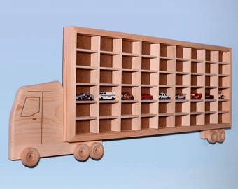 Matchbox Car Storage Truck