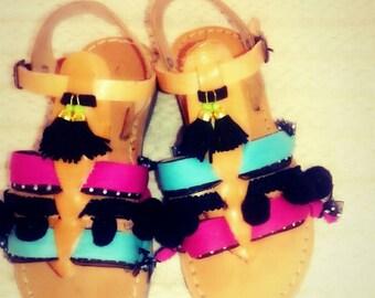 Boho sandals for little princess