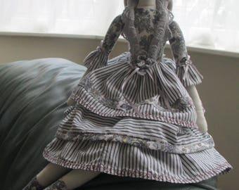 Rag Doll Art HandMade Decoration TildaDollGift