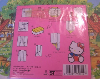 hello kitty foil paper squares