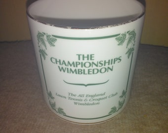 1994 Limited Edition Wedgwood Bone China Wimbledon Collection Mug