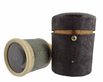 Nineteenth Century English Shagreen Monocular
