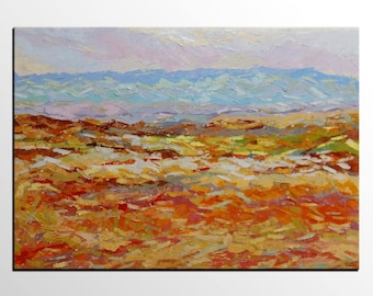 Abstract Landscape Painting, Abstract Painting, Canvas Art,  Abstract Art, Original Painting,  Oil Painting, Wall Art, Canvas Painting