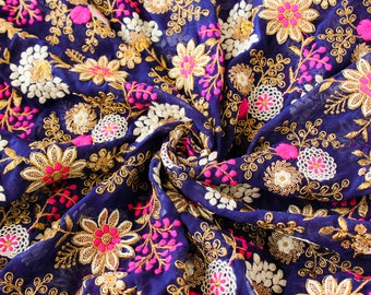 Embroidered Fabric Dress