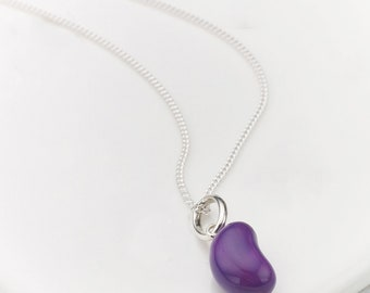 Grape Jelly Bean Necklace