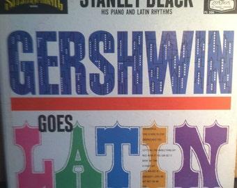 Stanley Black Gershwin Goes Latin Vinyl Jazz Record Album