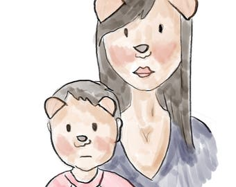 Mommy & Me Portrait