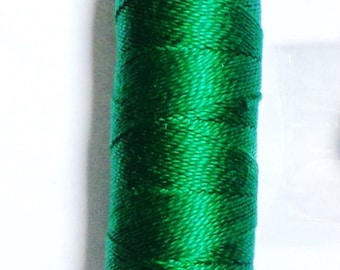 Pearl Iris Cotton Thread size 8-color green  ( 699)