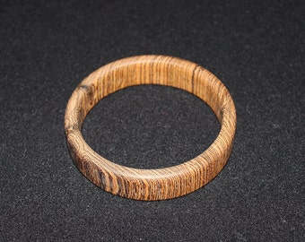 3/4 Inch Wide Custom Bocote Wood Bracelet