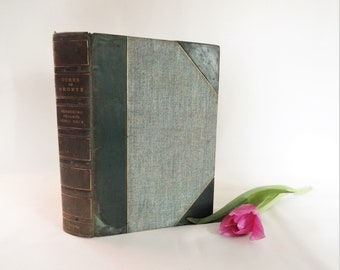 Wuthering Heights By Emily Bronte and Agnes Grey by Anne Bronte / 1900, Smith, Elder & Co., London / Many Extras in Addition To The Novels