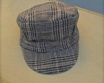 Train Hat for boys, train hats, Boys train hat, Train Birthday Party, Toddler train hat, Train conductor hat, Train hat, plaid train hats