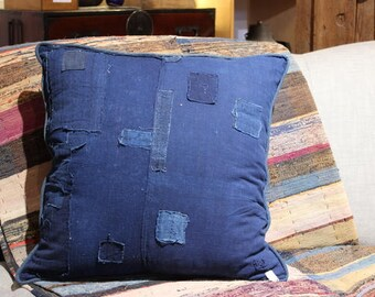Custom Large Japanese Boro Pillow - FREE SHIPPING