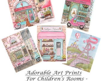 """Best Girl Gifts Under 15 Dollars, Inexpensive Gifts Kids, Cheap Gifts For Kids, 8 x 10"""", Discount for 2, 3, 4 or 6 Prints, Personalized Gift"""