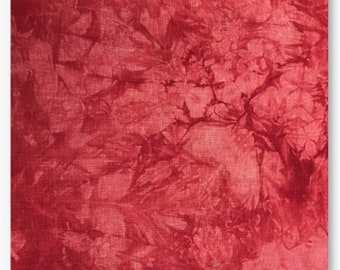 RUBIOUS 16 18 ct. Aida 28 32 ct. cross stitch fabrics Lugana Linen at thecottageneedle.com 2018 Nashville Market